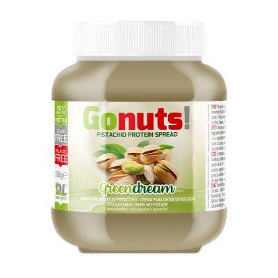 Anderson Daily life Gonuts! GreenDream al Pistacchio 350 g - Crema spalmabile al pistacchio - Crema proteica pistacchio