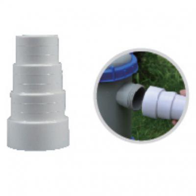 """ADATTATORE DI CONVERSIONE 1"""" 3/4 FEMMINA BESTWAY con portatubo  50-38-32 mm - Collega pompe filtro con tubi galleggianti"""