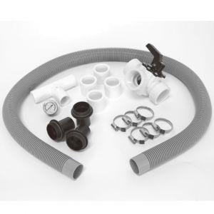 KIT BYPASS MULTIUSO PER PISCINA - Kit di deviazione per regolare il flusso dell'acqua in piscina