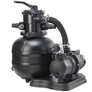 Quick Clean Classic 400 - Impianto di Filtrazione a Sabbia con pompa inclusa - Portata 8 m3/h, valvola a 5 vie