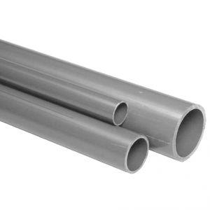TUBO PVC RIGIDO AD INCOLLAGGIO Ø50 MM - Lunghezza 3 Metri