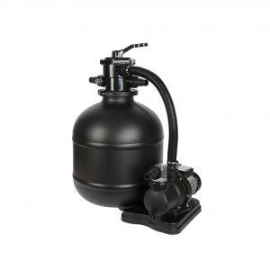 Super 500 Impianto filtro a sabbia con portata 10 mc/h con pompa da 550 watt inclusa, con prefiltro e valvola a 7 vie