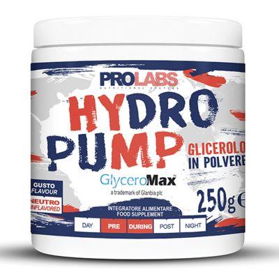 HYDRO PUMP GlyceroMax® Barattolo 250 Grammi gusto Neutro - Glicerolo Purissimo in Polvere Pre-Workout ed Intra-Workout