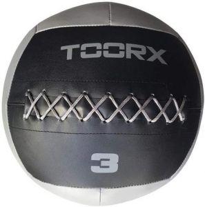 WALL BALL Palla Professionale 3 kg grigia Diametro 35 cm per allenamenti Crossfit ed Allenamenti Funzionali