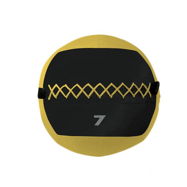 WALL BALL Palla Professionale 7 kg Gialla Diametro 35 cm per allenamenti Crossfit ed Allenamenti Funzionali