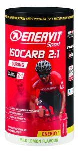 Enervit Sport Isocarb 2:1, barattolo 650g, gusto limone delicato - Formula a base di maltodestrine e fruttosio