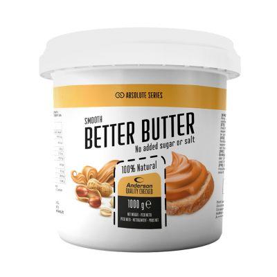 Anderson Absolute Series BETTER BUTTER 1 kg - Burro di arachidi 1000 g 100% naturale