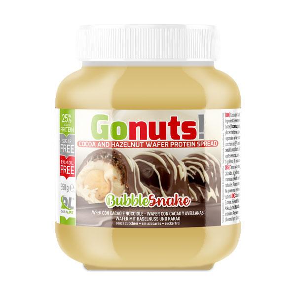 Anderson Daily life Gonuts! BubbleSnake Wafer con cacao e nocciole - Crema proteica 25%