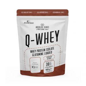 Absolute Series Q-WHEY Chocolate coconut 900 g- Integratore di Proteine del siero del latte isolate in polvere solubile
