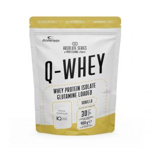Absolute Series Q-WHEY Vanilla 900 g- Integratore di Proteine del siero del latte isolate in polvere solubile