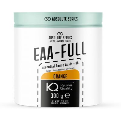 Absolute Series EAA-FULL 300 g Orange - Integratore in polvere di aminoacidi essenziali Kiowa®