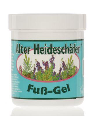 5X ALTER HEIDESCHAFER FUß-GEL - Kit risparmio con 5 barattoli da 100 ml di Balsamo Rinfrescante per Piedi