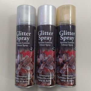 GLITTER MULTICOLOR SPRAY 100 ML - Bomboletta Spray per decorazioni bricolage feste