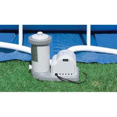 KRYSTAL CLEAR 56636 Pompa Filtro a Cartuccia - Capacità 5678 lt/h - Compatibile con piscine fuoriterra medio-piccole