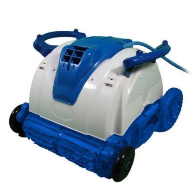 Jet Pod Brush Robot Elettrico con 16 mt di cavo, pulitore automatico con spazzola per la pulizia del fondo piscina