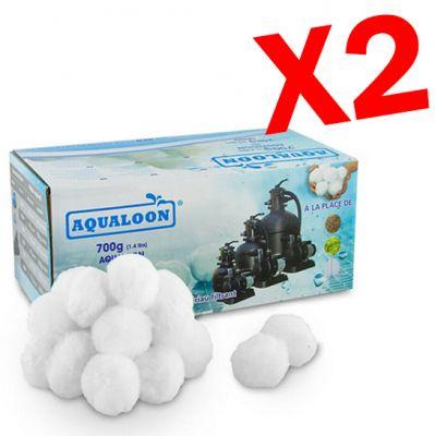 AQUALOON 2 Confezioni da 700 grammi - Equivalente a 50 kg di sabbia