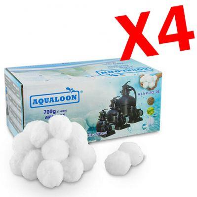 AQUALOON 2,8 KG - 4 Confezioni di Aqualoon da 700 grammi, sostituiscono 100 kg di sabbia quarzifera