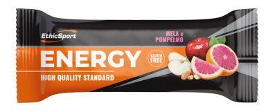 EthicSport Energy Mela - Pompelmo 35 g - Barretta energetica  Gluten Free e Senza Olio Di Palma