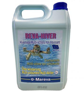REVA-HIVER Tanica 5 Litri - Svernante Multi-Azione Non Schiumogeno di Altissima Qualità