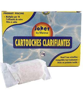 CARTUCCE FLOCCULANTE CHIARIFICANTE Confezione da 1 kg - Moltiplica di 10 volte la resa del filtro