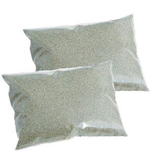KIT OFFERTA 50 KG - 2 Sacchi di Sabbia Quarzifera Microperlata Granulometria 0,4-0,8 mm per Pompa Filtro Piscina
