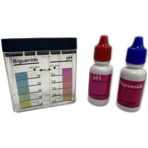 KIT ANALISI PH / PHMB - Test a Gocce per la rilevazione dei valori di Biguanide e pH dell'acqua