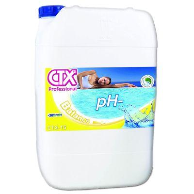 CTX-15 PH MINUS LIQUIDO 25 KG AD USO PROFESSIONALE - Prodotto liquido per abbassare il pH *VENDITA PROIBITA AI PRIVATI