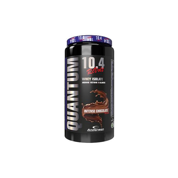 Anderson Quantum 10.4 revolt 800g Intense Chocolate - Integratore di proteine del siero del latte Volactive® isolate
