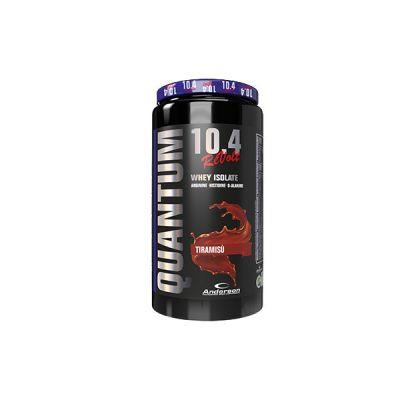 Anderson Quantum 10.4 revolt 800 g Tiramisù - Integratore di proteine del siero del latte Volactive® isolate