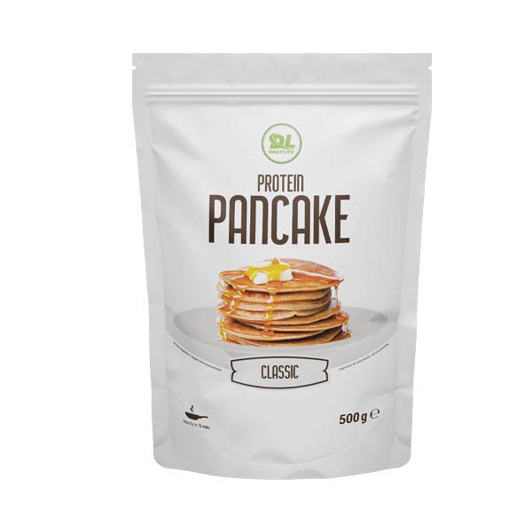 Daily Life Protein Pancake Neutro 500 g - Preparato per pancake a base di avena e proteine, con edulcorante