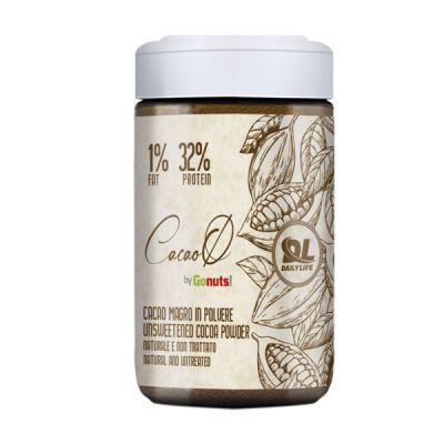 Daily Life Cacao Zero 120 g - Cacao Magro in Polvere Naturale e non Trattato