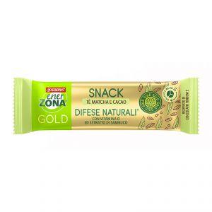 EnerZona Snack 40-30-30 Gold Difese Naturali 31 g - Barretta gusto cacao con filling al tè matcha