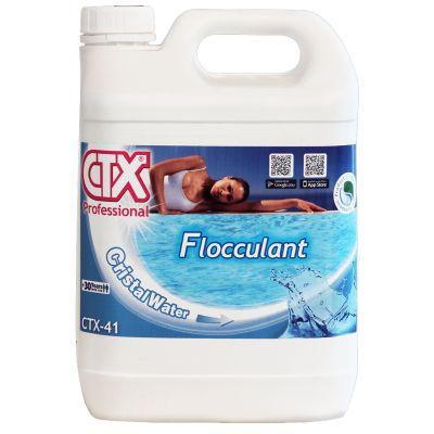 CTX-41 Flocculante Liquido in tanica da 5 litri - Elimina le torbidità dell'acqua