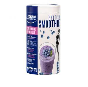 Enervit Protein Smoothie 520 g Gusto Mirtillo e Acerola - Bevanda istantanea a base fibra di grano e proteine da pisello