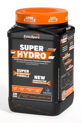 Ethicsport SUPERHYDRO® 500 g Limone - Integratore idrosalino energetico con carboidrati e vitamine B e C