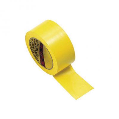 NASTRO ADESIVO PVC SEGNACAMPO colore GIALLO - Rotolo da 33 mt - Utile per segnare i campi di gioco - Uso interno