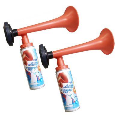 2X Trombe da stadio a gas da 70 ml