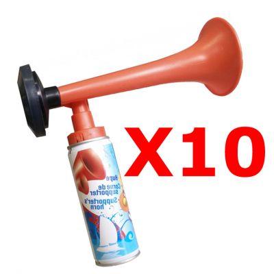 Kit Maxi Risparmio con 10 Trombe da stadio a gas 70 ml