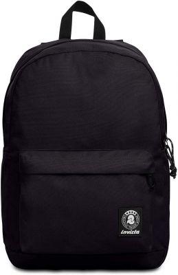 Zaino Carlson Plain Backpack Jet Black - Dimensioni 30 x 41,5 x 18 cm - Zaino Scuola e Tempo libero Ragazzi