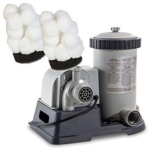 Impianto di Filtraggio a Cartuccia, portata 5678 lt/h - In dotazione un filtro a cartuccia + 2 filtri Aqualoon di tipo A