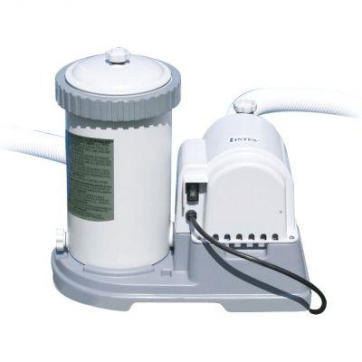 Gruppo Filtrante Intex 56634 con Portata 9463 lt/h, compatibile con cartuccia di tipo B + Spazzola a parete grande 45 cm