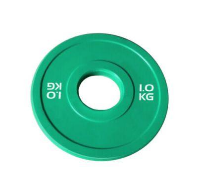 Toorx Disco Bumper Microcarico 1 kg, colore verde