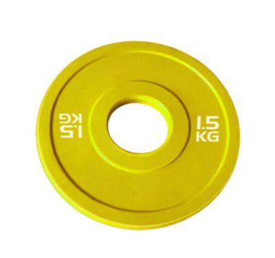 Toorx Disco Bumper Microcarico 1,5 kg, colore giallo