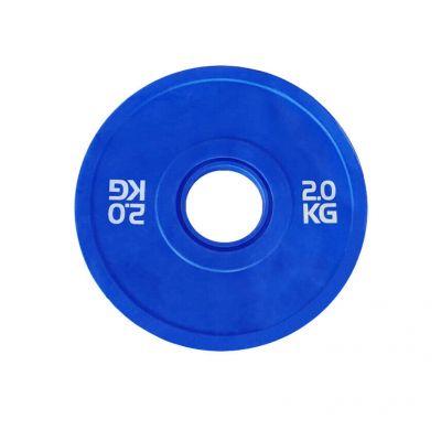 Toorx Disco Bumper Microcarico 2 kg, colore BLU