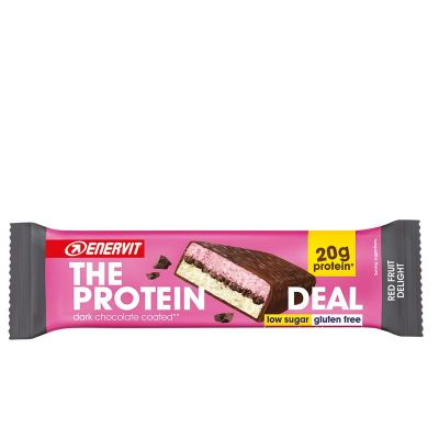 ENERVIT The Protein Deal Bar gusto Red Fruit Delight 55g Barretta Proteica - scadenza 15/10/2021