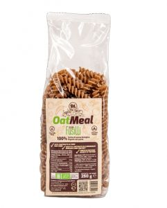 Daily Life Pasta OatMeal Italian Fusilli 250 gr - Pasta 100% farina di avena biologica gluten free