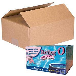 PROMO PACK BERLING'O 50 ML, totale 144 sacchettini - Trattamento piscine di piccole dimensioni 2-4 metri cubi