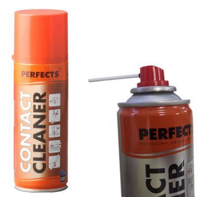 CONTACT CLEANER PERFECTS 200 ML, con beccuccio - Spray Pulisci Contatti Lubrificante Oleoso Disossidante