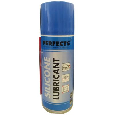 SILICONE LUBRICANT PERFECTS 200 ML, con beccuccio - Bomboletta Spray Lubrificante Siliconico Uso Professionale