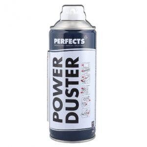 POWER DUSTER PERFECTS 400 ML, con cannuccia - Aria Compressa Spray per pulizia Computer, Tastiere ed Accessori